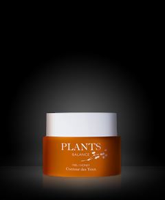 honey eye contour plants balance