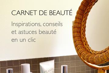 lien page carnet de beauté